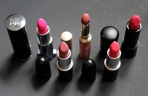Lipsticks MAC Clarins Givenchy