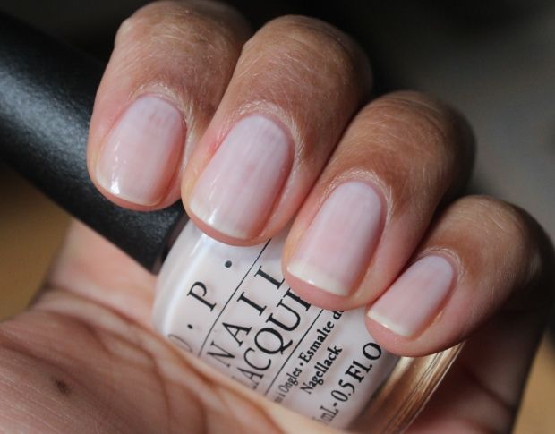OPI Act Your Beige swatch