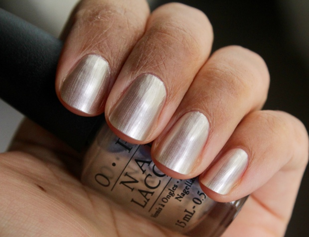 OPI This Silver's Mine! swatch
