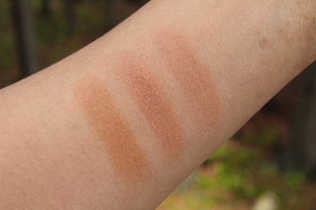 Marc Jacobs O!Mega Bronzer comparison swatches