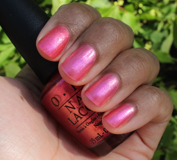 OPI Can't Hear Myself Pink! swatch