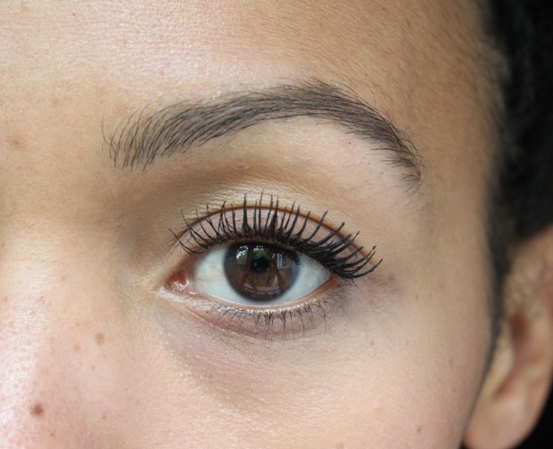 L'Oreal Miss Manga Rock mascara two coats