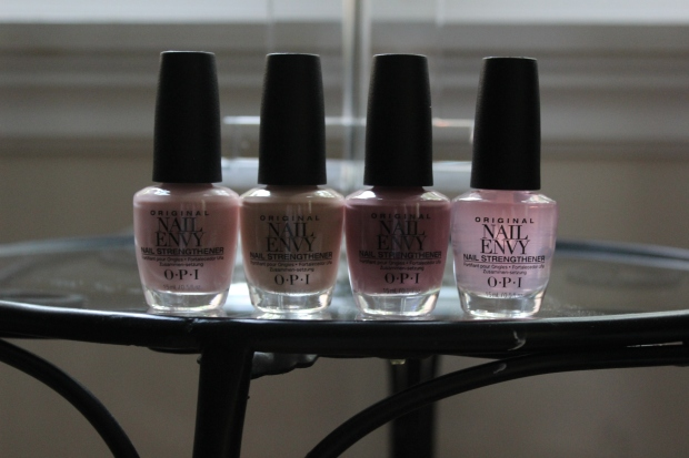 OPI Nail Envy polish shades