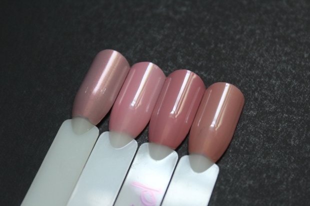 OPI Nail Envy Hawaiian Orchid comparison swatches