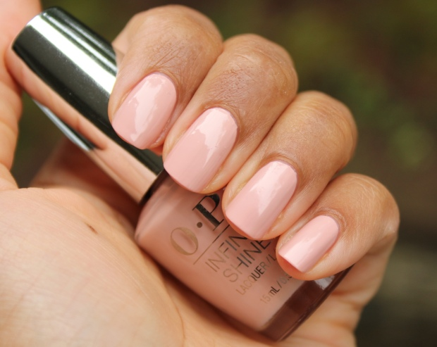 OPI You're Blushing Again swatch