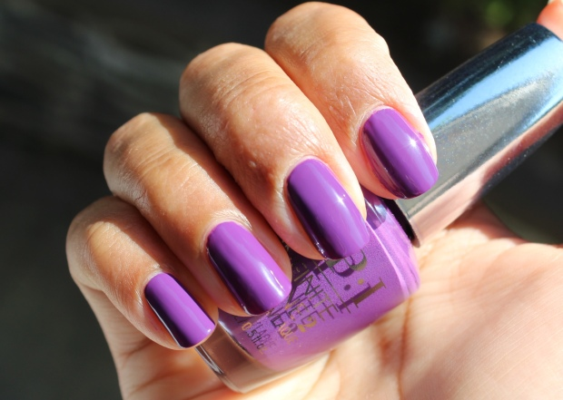 OPI Purpletual Emotion swatch
