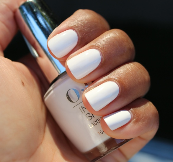 OPI Non-Stop White swatch