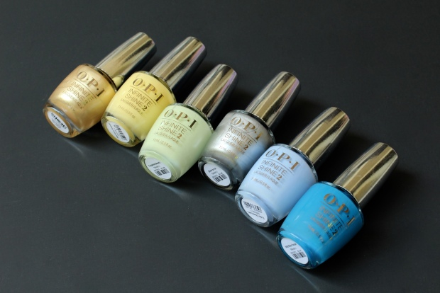 OPI Infinite Shine Summer 2015 Collection