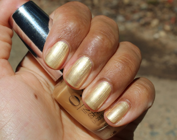 OPI Enter the Golden Era swatch