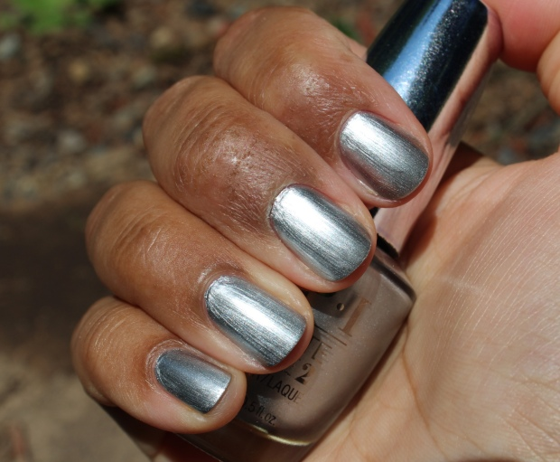 OPI Silver on Ice swatch