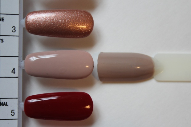 OPI Tiramisu for Two swatch comparison