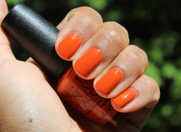 OPI It's a Piazza Cake swatch