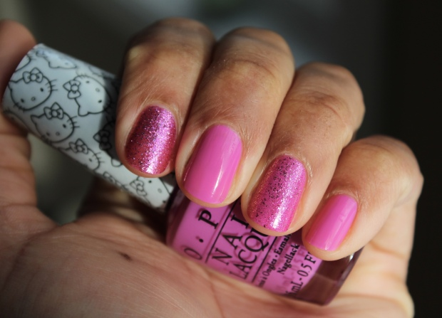 OPI Starry-Eyed for Dear Daniel & Super Cute in Pink swatches
